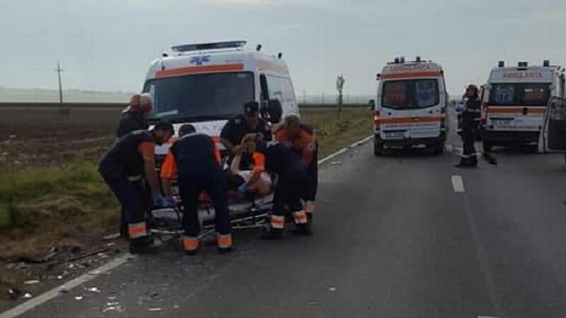 Accident grav în Galați