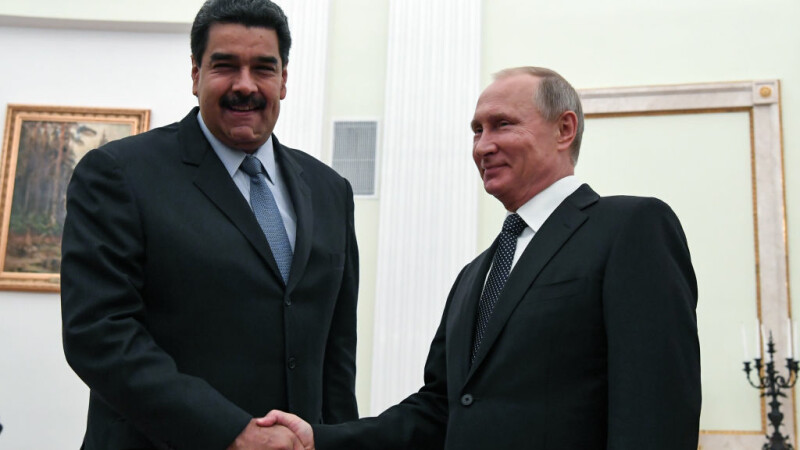 Nicolas Maduro, Vladimir Putin