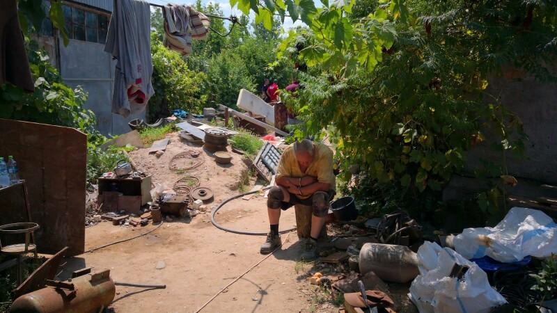 Imagini din casa suspectului din Caracal, unde au fost găsite rămășițe umane - 6