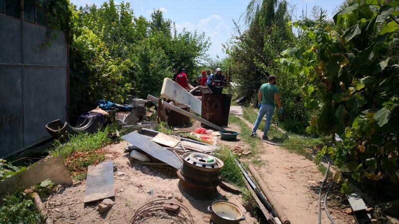 Imagini din casa suspectului din Caracal, unde au fost găsite rămășițe umane - 13