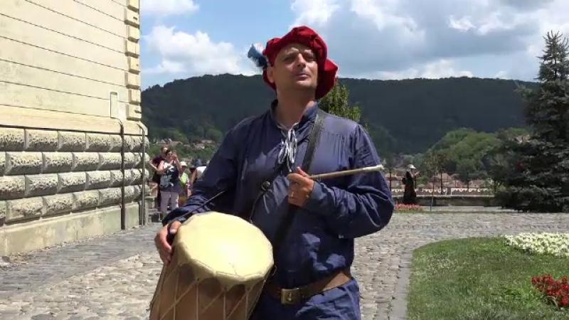 Festival medieval, la Sighişoara