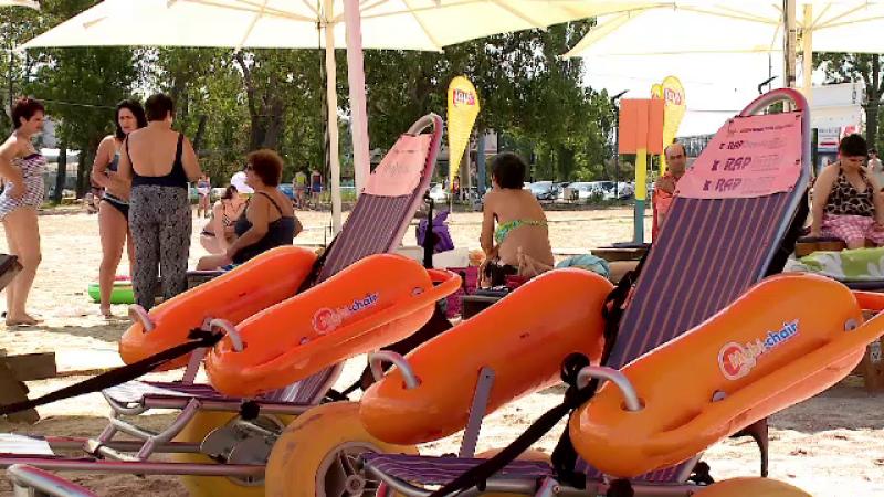 plaja mamaia turisti dizabilitati
