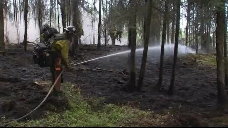 Vreme neobișnuită în lume. Alaska se luptă cu canicula și incendiile de vegetație