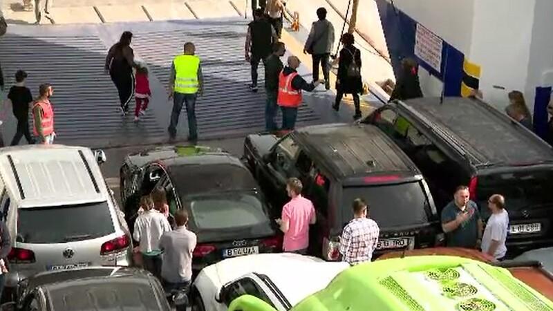 Grecii au închis 5 dintre cele 6 vămi cu Bulgaria
