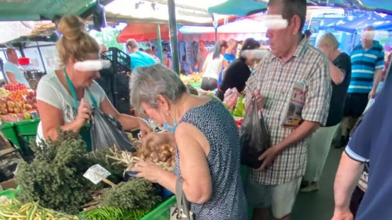 piata in Bucuresti