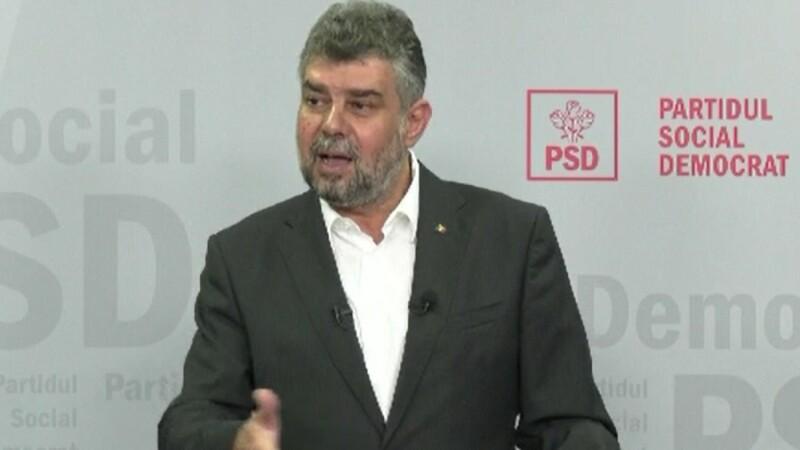 Marcel Ciolacu, președintele interimar al PSD, despre legea carantinării și izolării
