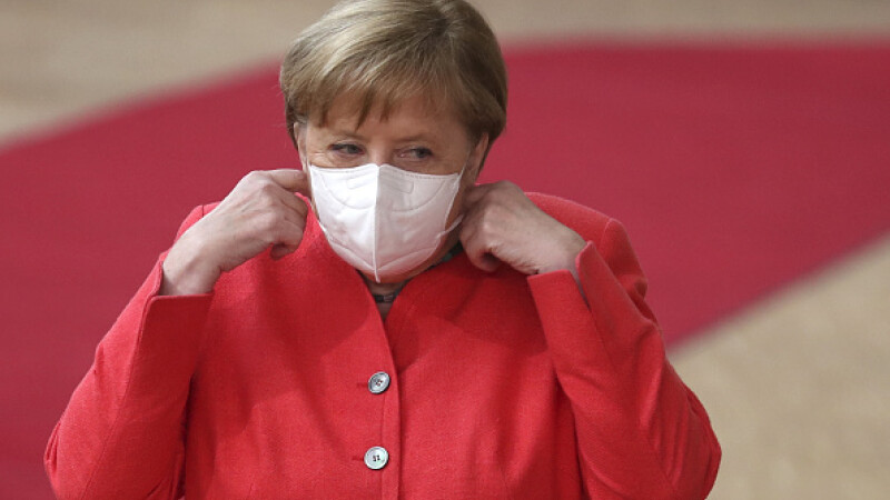 Angela Merkel, cancelarul Germaniei