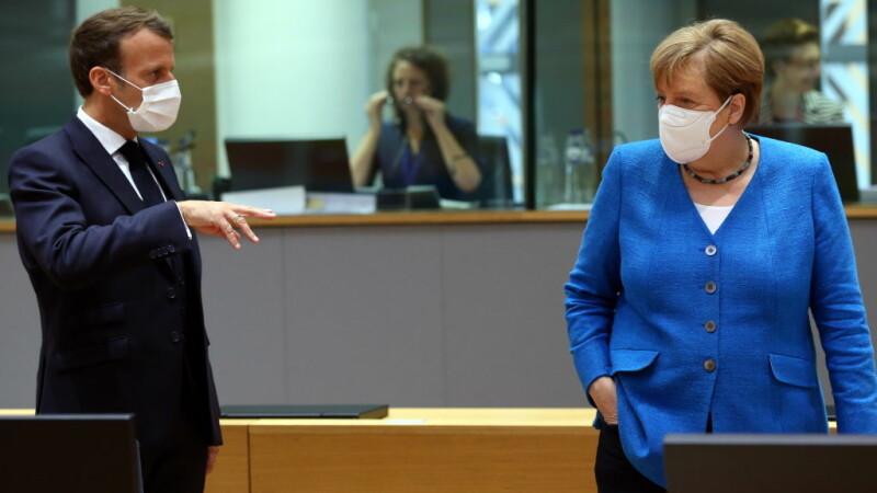 """Macron a bătut cu pumnul în masă la Summitul UE. Cine l-a enervat: """"Sunt egoiști"""""""