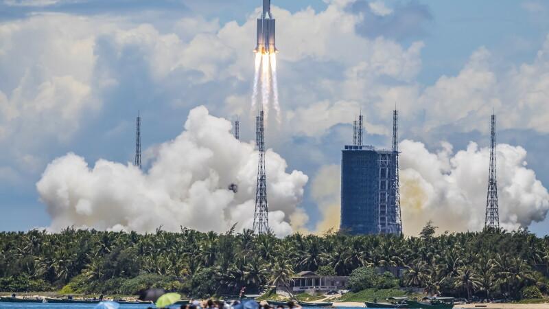 racheta, Marte, China