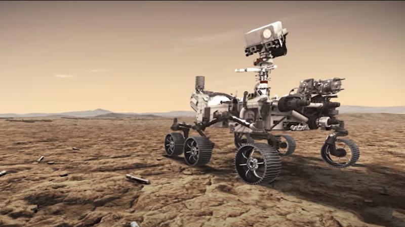 NASA va lansa roverul Perseverance, care să caute viață pe Marte