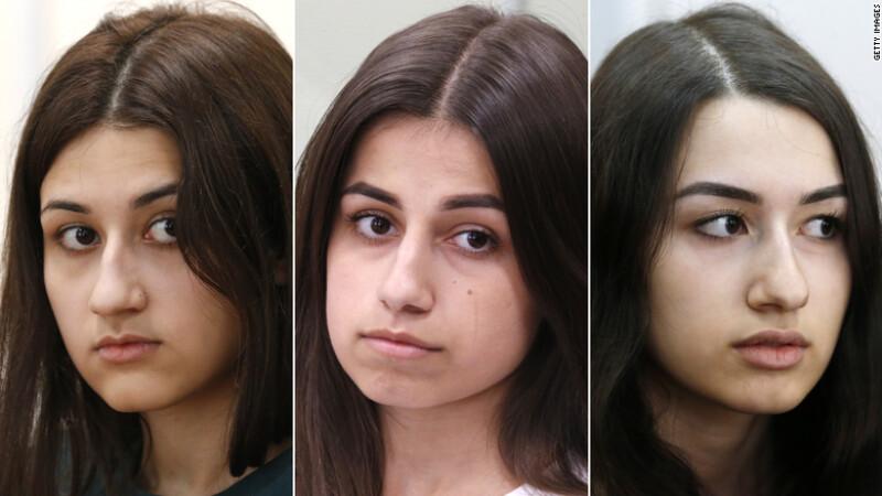trei surori din rusia si-au ucis tatal