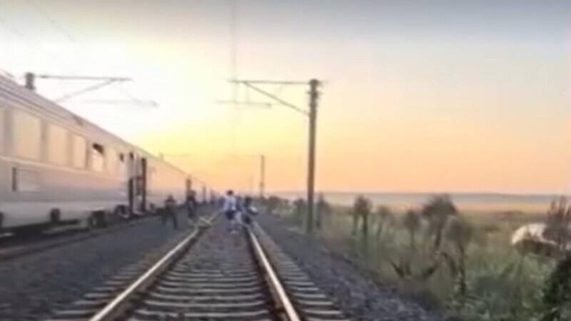 CFR tren câmp
