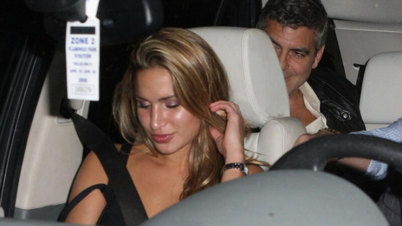 George Clooney si Lucy Wolvert