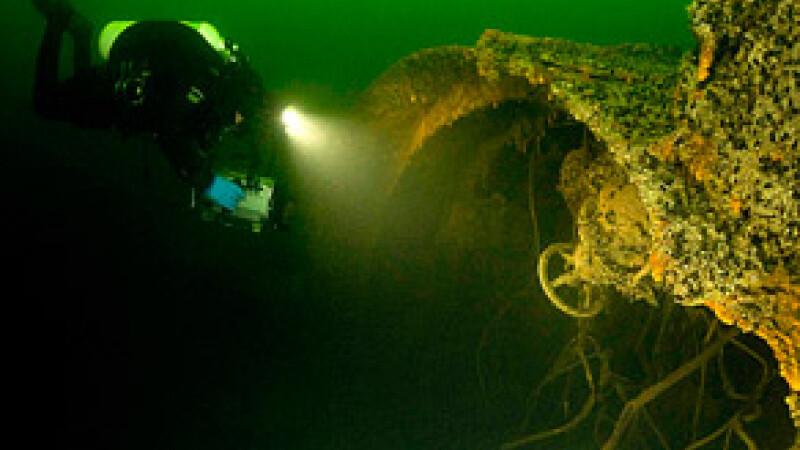 Submarin din Al Doilea Razboi Mondial, gasit in Golful Finic