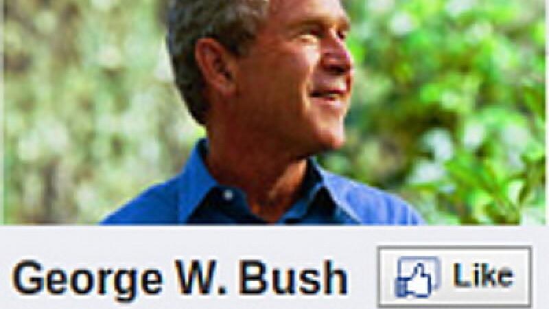 George Bush Facebook