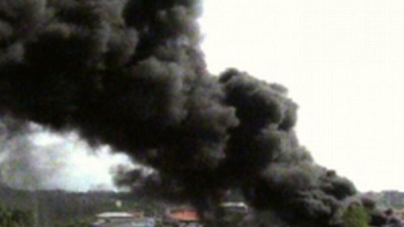 Incendiu piata Crangasi
