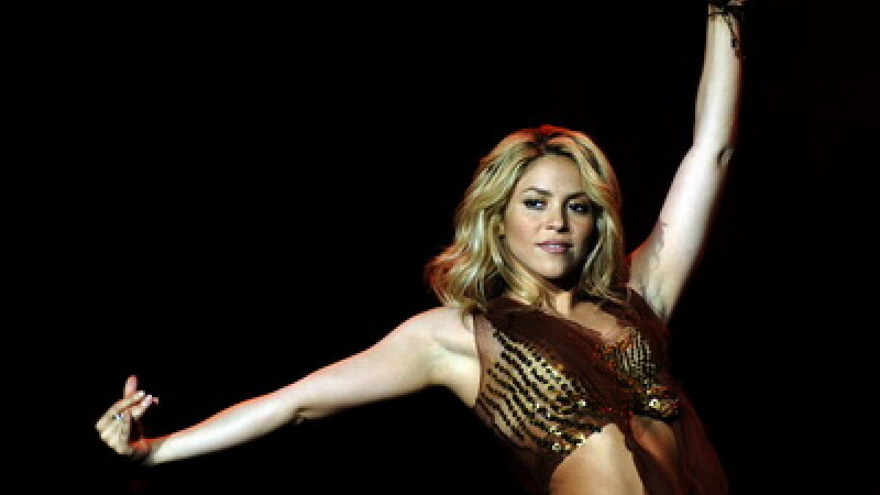 Shakira, in centrul atentiei la Campionatul Mondial de Fotbal