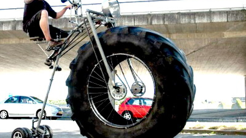 Tricicleta de 450 de kilograme