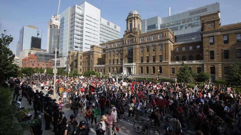 proteste Toronto