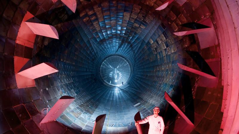 Tunel militar supersonic