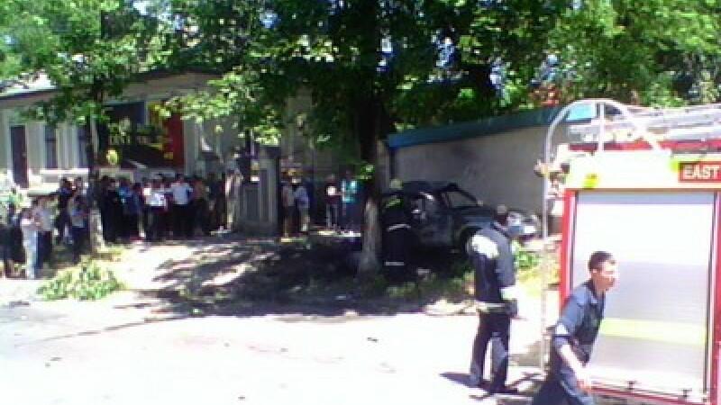 Explozie la Chisinau
