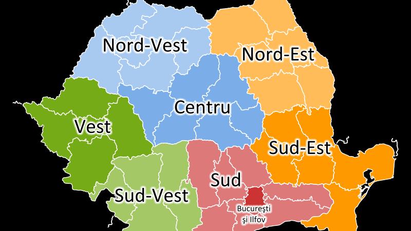 Sibiu vs Brasov / Cluj vs Oradea. Cine va conduce noile judete ale Romaniei