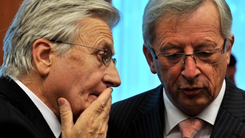Jean Claude Juncker si Jean Claude Trichet