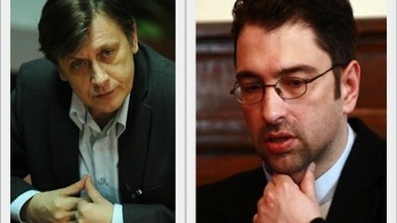 Crin Antonescu si Sever Voinescu