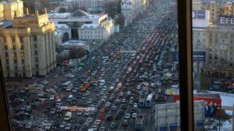 Top 10 orase cu cel mai aglomerat trafic din lume. GALERIE FOTO