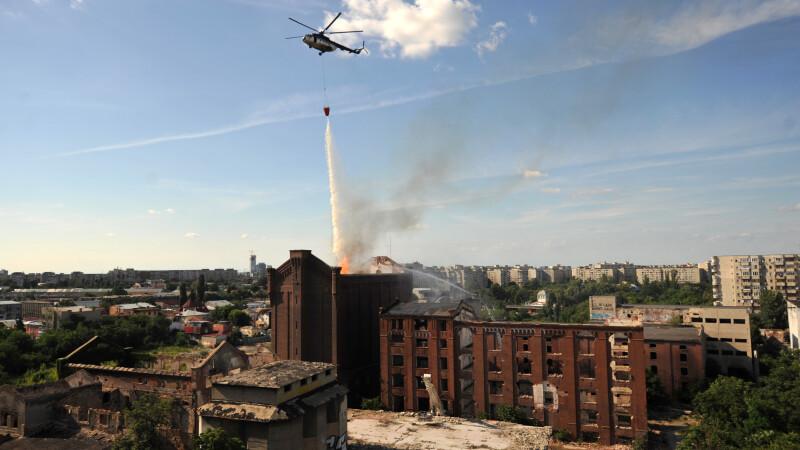 moara lui Assan elicopter