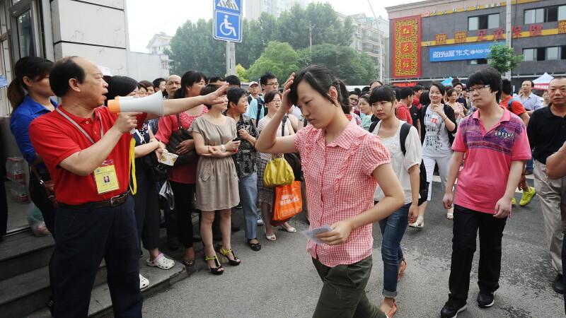 Studenti in China