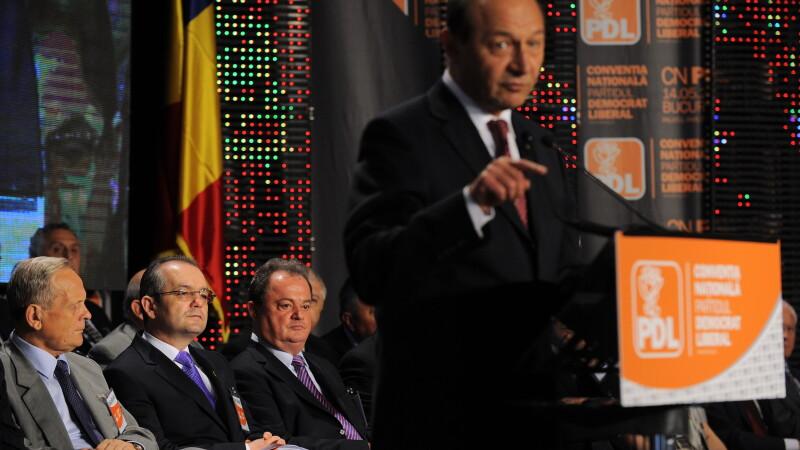 PDL il invita pe Traian Basescu la Conventia Nationala din 23 martie
