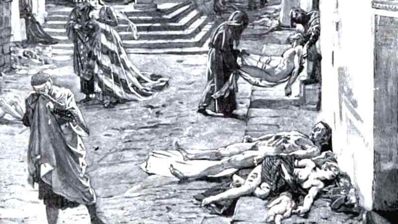 desen,ciuma, Moartea Neagra