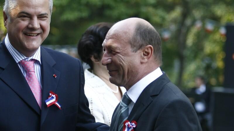 Adrian Nastase si Traian Basescu
