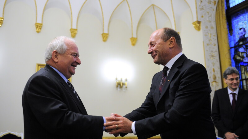 Joseph Daul si Traiaan Basescu