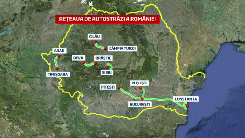 autostrada, Romania