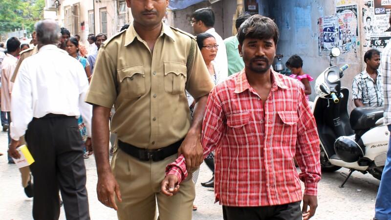 Suspect de viol in India