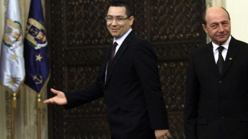 Victor Ponta, Traian Basescu - cover
