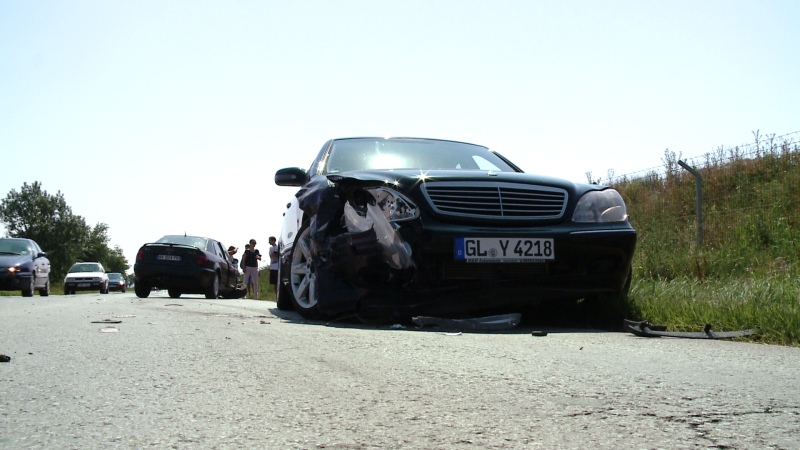 masina accident