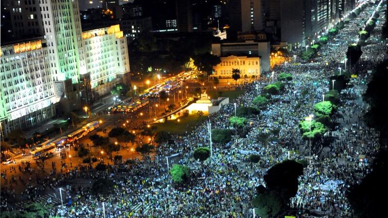 Proteste in Brazilia