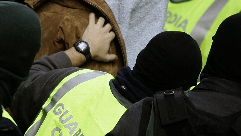 politisti, Spania