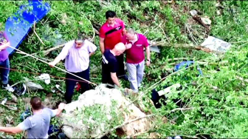 accident autocar Muntenegru