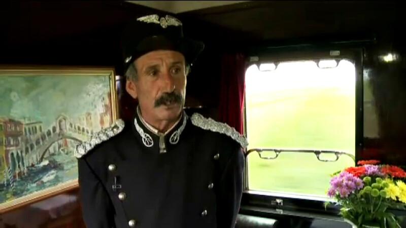 controlor trenul regal