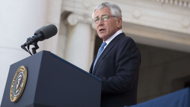 Secretarul Apararii al SUA, Chuck Hagel, vine in Romania la invitatia MApN. Acesta se va intalni cu ministrul Mircea Dusa
