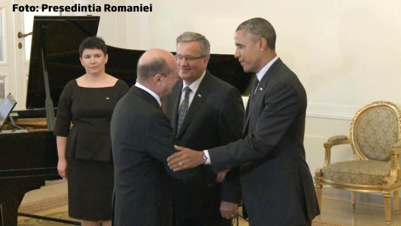 Basescu si OBama