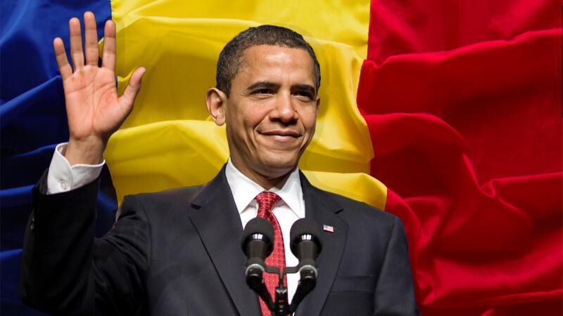 cover Obama steagul Romaniei