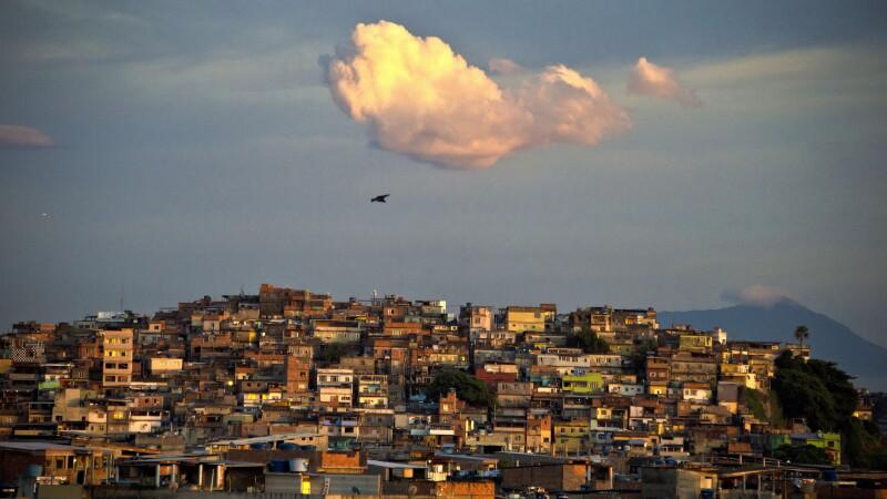 Favela in Brazilia