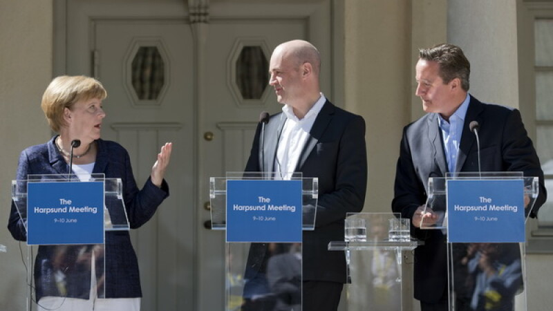 Angela Merkel si David Cameron
