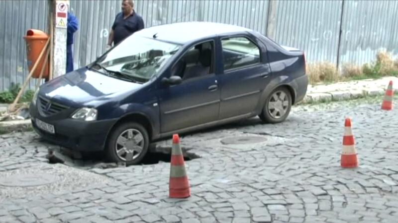 masina strada surpata Tulcea