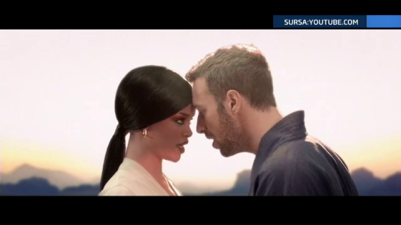 Rihanna si Chris Martin
